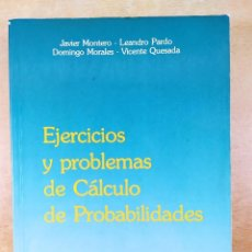 Libros de segunda mano de Ciencias: EJERCICIOS Y PROBLEMAS DE CÁLCULO DE PROBABILIDADES / VV.AA. / 1988. EDITA DIAZ DE SANTOS. Lote 278337988