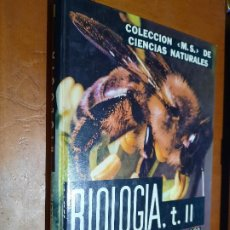 Libros de segunda mano: BIOLOGÍA TOMO II. JEAN VALLIN. TAPA DURA. BUEN ESTADO. Lote 278536408