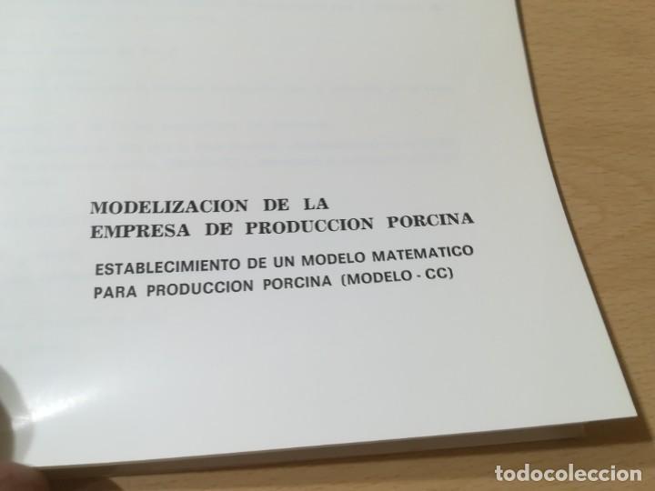 Libros de segunda mano: MODELIZACION EMPRESA PRODUCCION PORCINA / A SAEZ OLIVITO / UNIVERSIDAD ZARAGOZA / AL48 - Foto 6 - 278628423