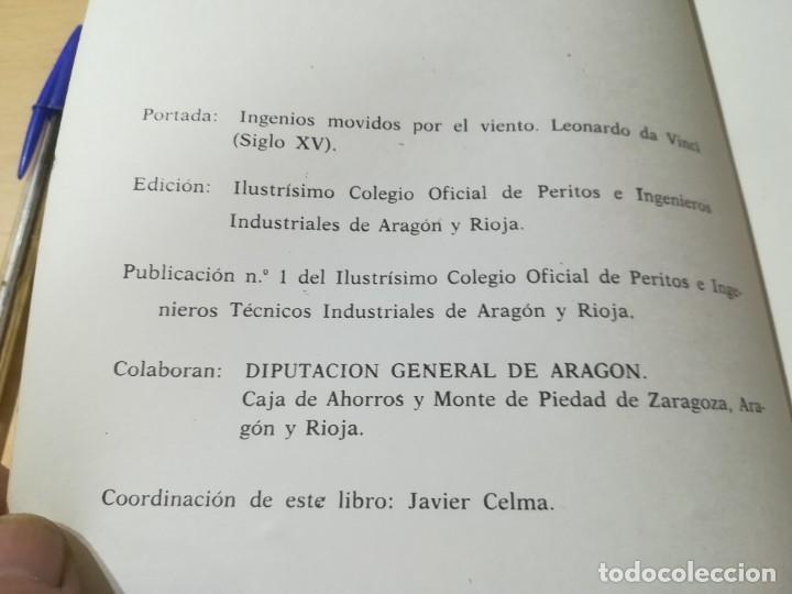Libros de segunda mano: PRIMERAS JORNADAS DE ENERGIA / ZARAGOZA 1979 / COLEGIO INGENIEROS TECNICOS / AL62 - Foto 3 - 278628608
