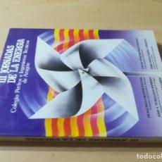 Libros de segunda mano: III JORNADAS ENERGIA / ZARAGOZA 1983 / COLEGIO INGENIEROS TECNICOS / AL86. Lote 278628643