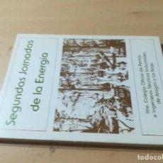 Libros de segunda mano: II JORNADAS ENERGIA / ZARAGOZA 1981 / COLEGIO INGENIEROS TECNICOS / AL86. Lote 278628658