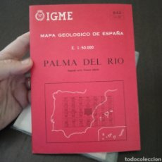 Libros de segunda mano: MAPA GEOLÓGICO ESPAÑA PALMA DEL RÍO 942 MAGNA ESCALA 1:50.000. Lote 278763003