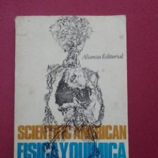Libros de segunda mano de Ciencias: FISICA Y QUIMICA DE LA VIDA - SCIENTIFIC AMERICAN. Lote 279465438