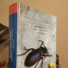 Libros de segunda mano: EUSKAL AUTONOMIA ERKIDEGOKO CARABOIDEAK (INSECTA: COLEÓPTERA). VICENTE M. ORTUÑO Y JUAN Mª MARCOS. Lote 279496448
