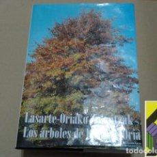 Libros de segunda mano: GURRUTXAGA, ITZIAR: LOS ÁRBOLES DE LASARTE-ORIA (TRAD:JOAN IGNAZIO BEREZIARTUA). Lote 279513378