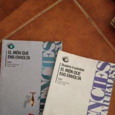 Libros de segunda mano de Ciencias: FÍSICA Y QUÍMICA, 1 ESO, DOS LIBRILLOS. Lote 283448988