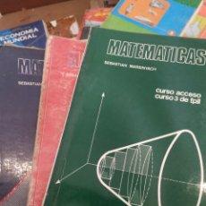 Libros de segunda mano de Ciencias: MATEMÁTICAS, CURSO FP11, 1,2 Y 3, TRES LIBROS. Lote 283504328