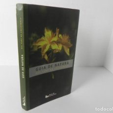 Libros de segunda mano: GUIA DE NATURA DEL PARC DE COLLSEROLA (DIPUTACIO DE BCN-2004 (EN CATALÁN). Lote 285699303