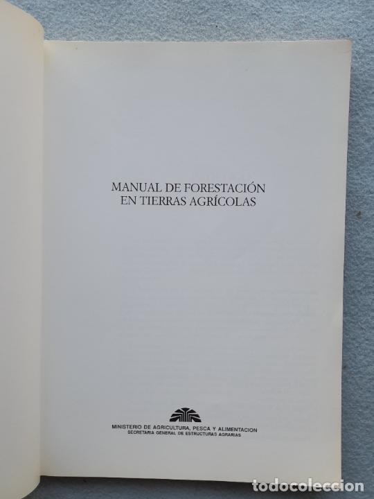 Libros de segunda mano: Manual de Forestación en Tierras Agrícolas. - Foto 3 - 285762828