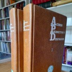 Libros de segunda mano de Ciencias: ACEROS PRODUCTOS Y DERIVADOS, COSIMET. BILBAO 1968.. Lote 286250548