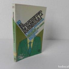 Libros de segunda mano: EL EVOLUCIONISMO: DE DARWIN A LA SOCIOBIOLOGIA (R. GRASA HDEZ.) CINCEL-1986. Lote 286324848