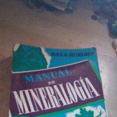 Livros em segunda mão: MANUAL MINERALOGIA ED. REVERTE S.A. - 1960 TAPA CARTONÉ.. Lote 286336188