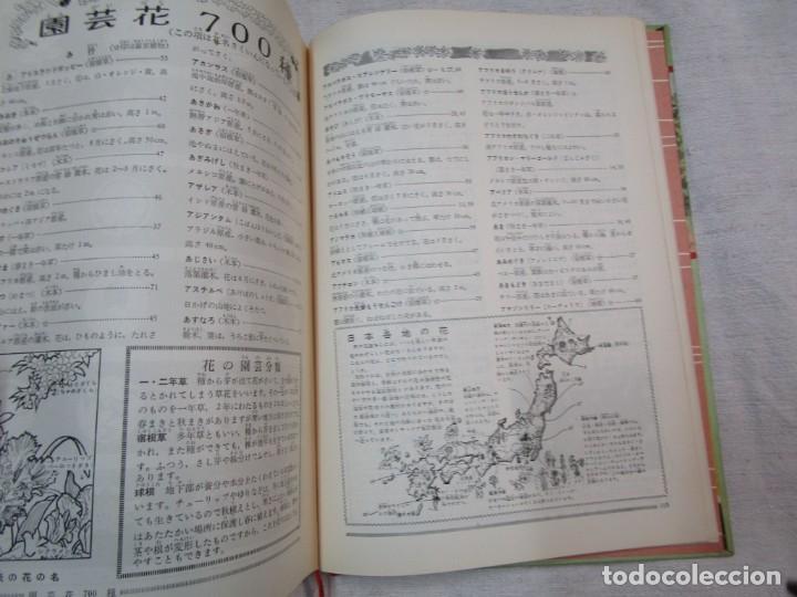 Libros de segunda mano: ENCICLOPEDIA DE LAS 5 FLORES - EIICHI ASAYANA - EDI KODANSHA JAPON 1966, INTEGRO EN JAPONES + INFO - Foto 14 - 287348853
