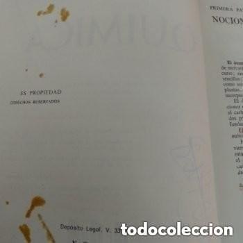 Libros de segunda mano de Ciencias: 1971 QUIMICA E. NAGORE, TAPA BLANDA - Foto 2 - 287555073