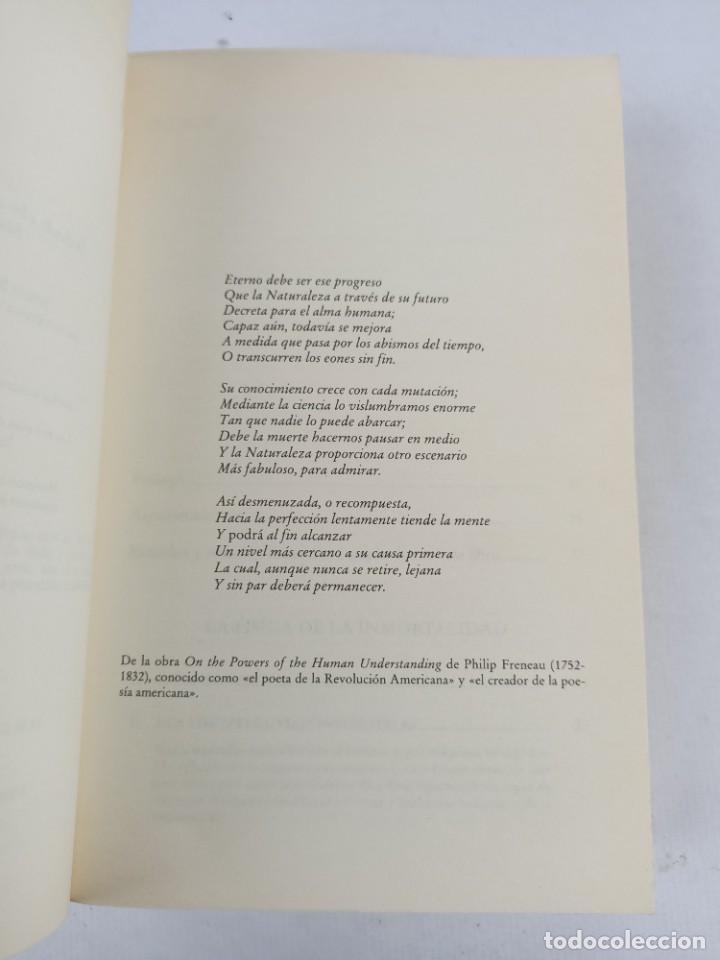 Libros de segunda mano de Ciencias: LA FISICA DE LA INMORTALIDAD - TIPLER - ALIANZA UNIIVERSIDAD - Foto 3 - 287751788