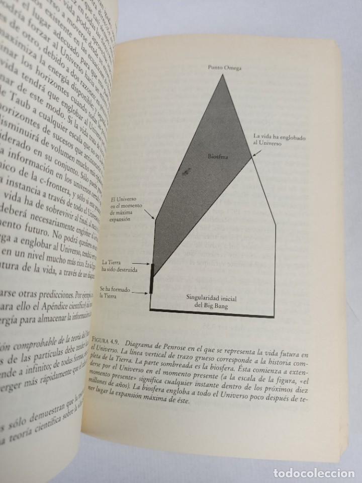 Libros de segunda mano de Ciencias: LA FISICA DE LA INMORTALIDAD - TIPLER - ALIANZA UNIIVERSIDAD - Foto 5 - 287751788