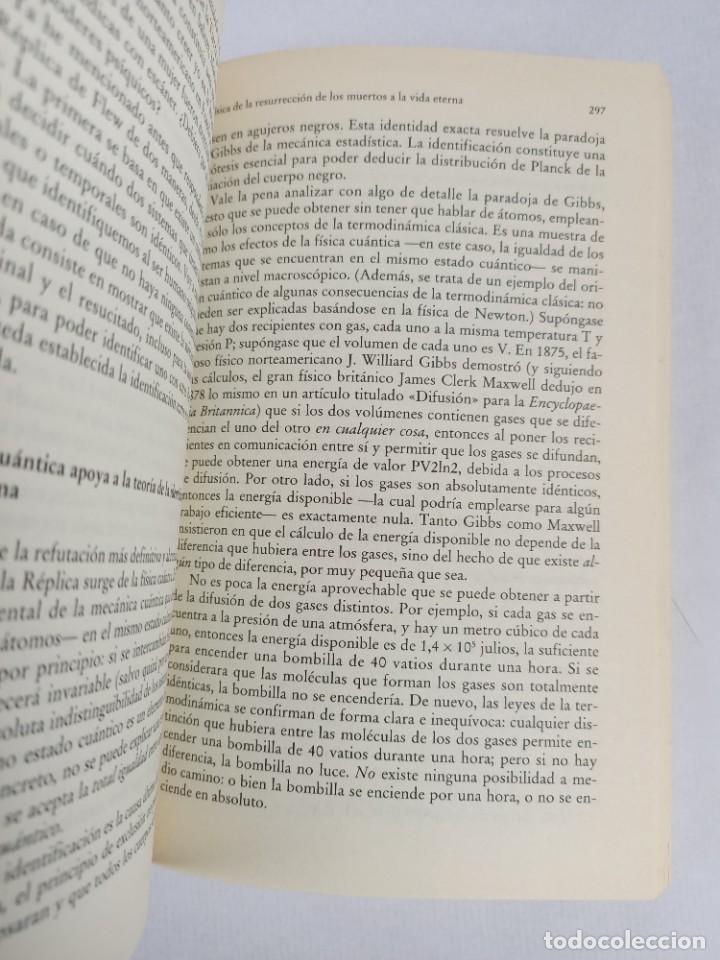 Libros de segunda mano de Ciencias: LA FISICA DE LA INMORTALIDAD - TIPLER - ALIANZA UNIIVERSIDAD - Foto 6 - 287751788