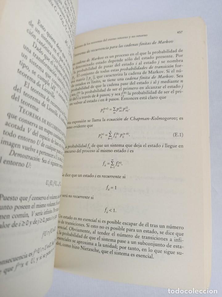 Libros de segunda mano de Ciencias: LA FISICA DE LA INMORTALIDAD - TIPLER - ALIANZA UNIIVERSIDAD - Foto 7 - 287751788