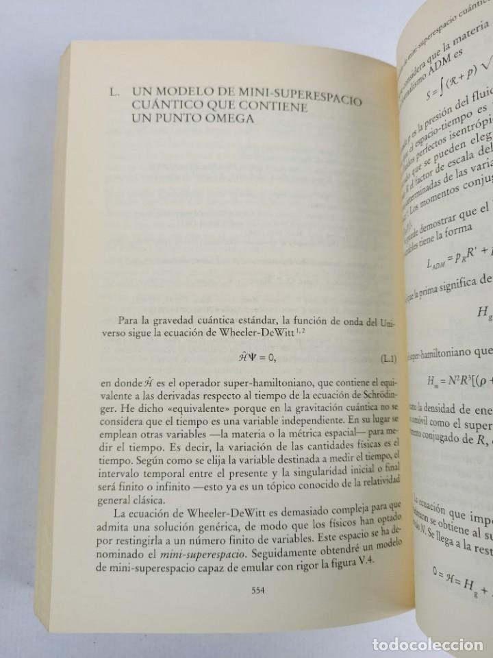 Libros de segunda mano de Ciencias: LA FISICA DE LA INMORTALIDAD - TIPLER - ALIANZA UNIIVERSIDAD - Foto 8 - 287751788