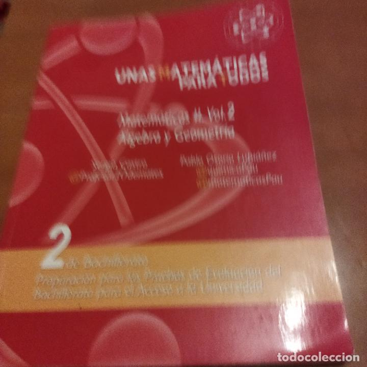 Libros de segunda mano de Ciencias: Unas matemáticas para todos - Foto 2 - 287790728