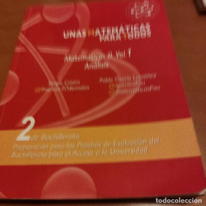 UNAS MATEMÁTICAS PARA TODOS (Libros de Segunda Mano - Ciencias, Manuales y Oficios - Física, Química y Matemáticas)