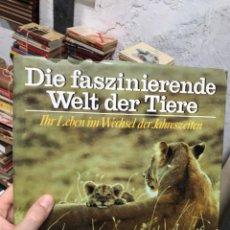 Libros de segunda mano: LIBRO SOBRE ANIMALES Y NATURALEZA EN TAPA DURA Y GRAN TAMAÑO. Lote 287792538