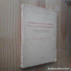 Libros de segunda mano: ESTUDIO HISTORICO Y JURIDICO DE LA ALBUFERA DE VALENCIA - CARMEN CARUANA TOMÁS. Lote 287888708