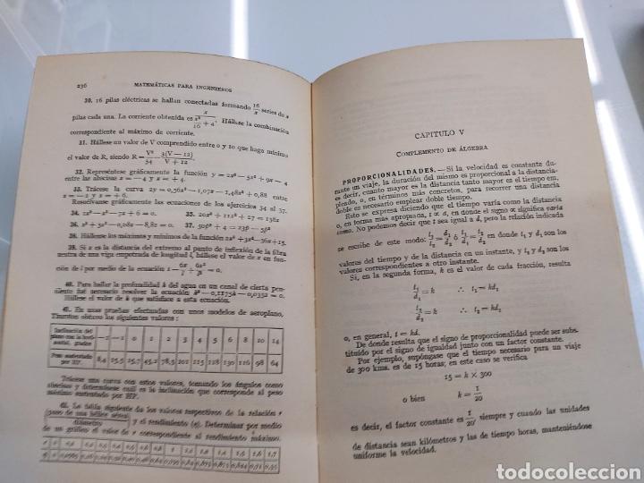 Libros de segunda mano de Ciencias: Tratado práctico de Matemáticas para Ingenieros 2Vols W. N. Rose Ed. Labor 1944 Arquitectos peritos - Foto 6 - 287906698