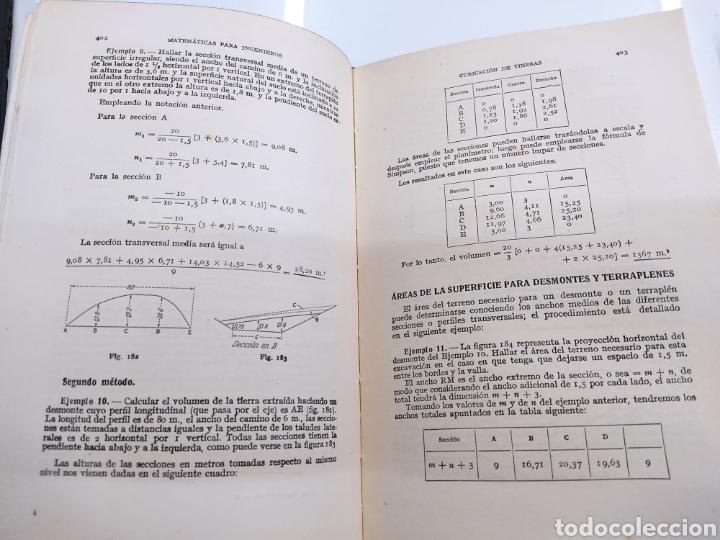 Libros de segunda mano de Ciencias: Tratado práctico de Matemáticas para Ingenieros 2Vols W. N. Rose Ed. Labor 1944 Arquitectos peritos - Foto 7 - 287906698