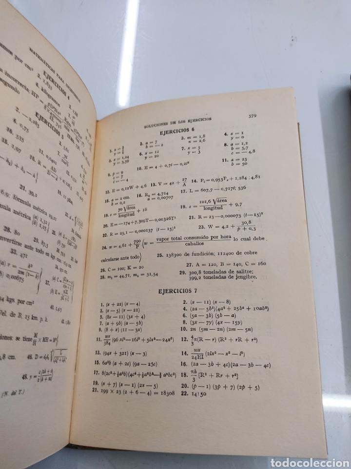 Libros de segunda mano de Ciencias: Tratado práctico de Matemáticas para Ingenieros 2Vols W. N. Rose Ed. Labor 1944 Arquitectos peritos - Foto 8 - 287906698