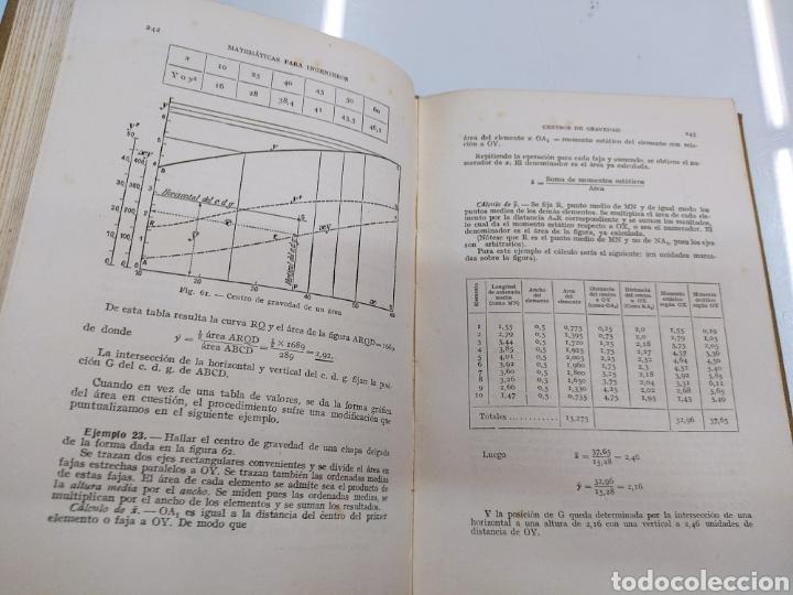 Libros de segunda mano de Ciencias: Tratado práctico de Matemáticas para Ingenieros 2Vols W. N. Rose Ed. Labor 1944 Arquitectos peritos - Foto 11 - 287906698