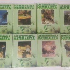 Libros de segunda mano: LOS SECRETOS DE LA NATURALEZA. CLUB INTERNACIONAL DEL LIBRO. 8 TOMOS COMPLETA. Lote 288006978