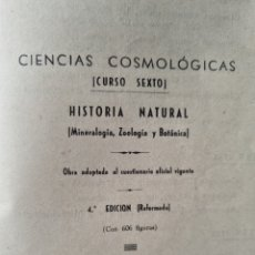 Libros de segunda mano de Ciencias: CIENCIAS COOLOGICAS. NUEVO Y LUJOSA ENCUADERNACIÓN. Lote 288357973