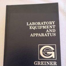 """Libros de segunda mano de Ciencias: LABORATORY EQUIPMENT """"GREINER SCIENTIFIC"""". Lote 288365068"""