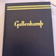 Libros de segunda mano de Ciencias: GALLENKAMP 19 TH ED. Lote 288366968