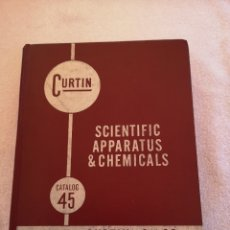 Libros de segunda mano de Ciencias: CURTIN SCIENTIFIC APPARATUS & CHEMICALS. Lote 288368278