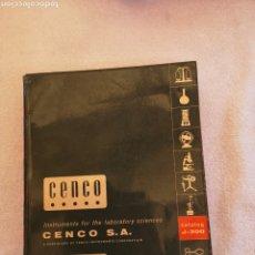 Libros de segunda mano de Ciencias: CENCO CATALOG J-300. Lote 288369418