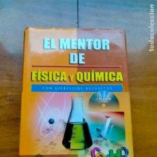 Libros de segunda mano de Ciencias: EL MENTOR DE FÍSICA Y QUIMICA (INCLUYE CD). Lote 288393388