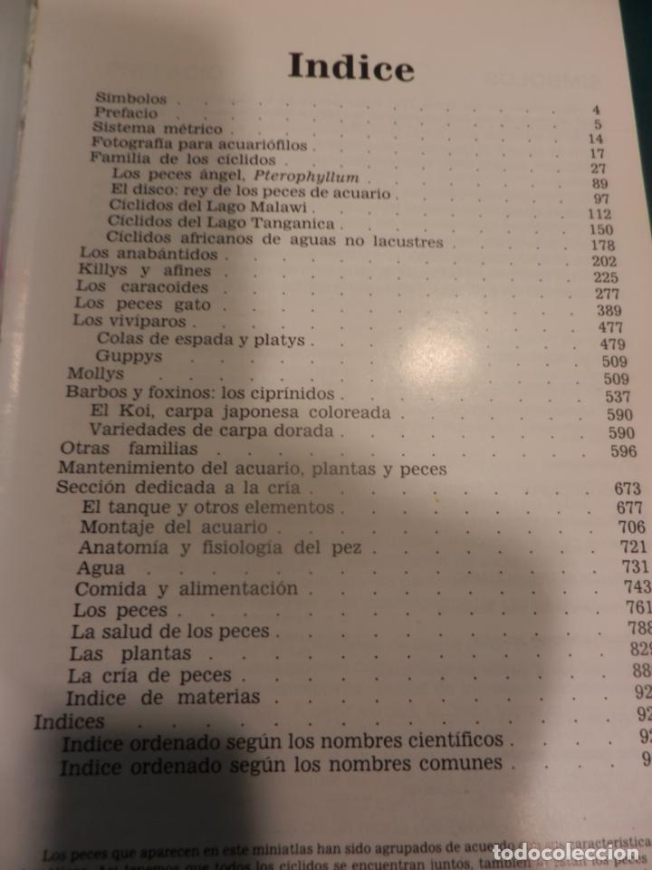 Libros de segunda mano: MINI-ATLAS DE PECES DE ACUARIO DE AGUA DULCE - DR. AXELROD - MAS DE 1.800 FOTOS - AÑO 1992 - Foto 2 - 288436068