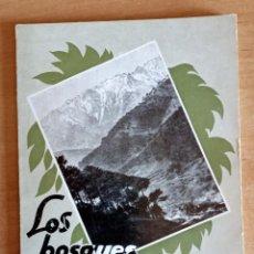 Libros de segunda mano: LOS BOSQUES.CANCION Y FUERZA DE ESPAÑA.INGENIEROS DE MONTES.1934.BOTANICA.BOSQUES.NATURALEZA. Lote 288448278