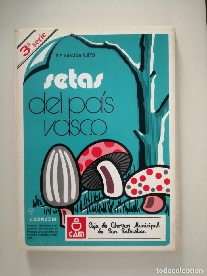 Libros de segunda mano: Setas del País Vasco serie 2ª 3ª 4ª 5ª 11ª 12ª y 15ª Aranzadi - Foto 3 - 288579143