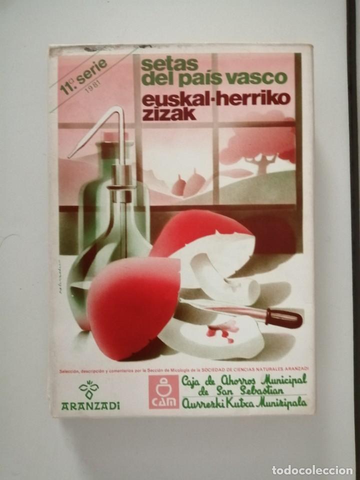 Libros de segunda mano: Setas del País Vasco serie 2ª 3ª 4ª 5ª 11ª 12ª y 15ª Aranzadi - Foto 4 - 288579143