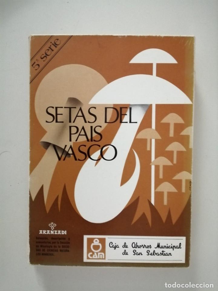 Libros de segunda mano: Setas del País Vasco serie 2ª 3ª 4ª 5ª 11ª 12ª y 15ª Aranzadi - Foto 5 - 288579143