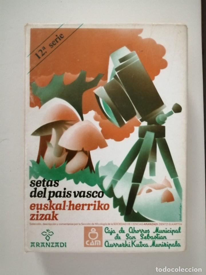 Libros de segunda mano: Setas del País Vasco serie 2ª 3ª 4ª 5ª 11ª 12ª y 15ª Aranzadi - Foto 6 - 288579143