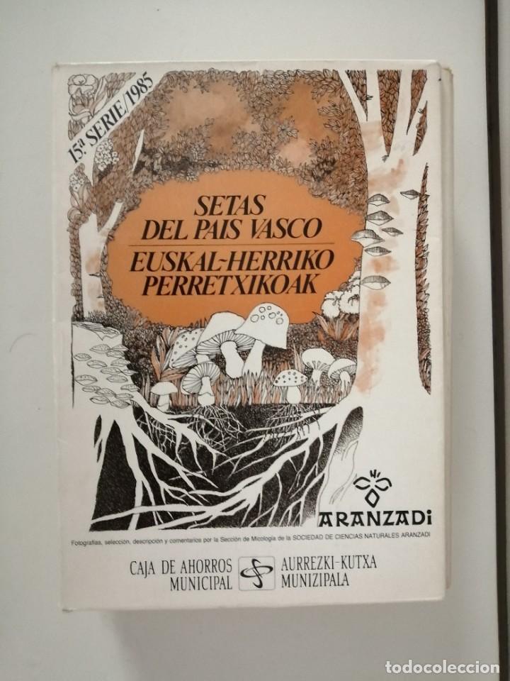 Libros de segunda mano: Setas del País Vasco serie 2ª 3ª 4ª 5ª 11ª 12ª y 15ª Aranzadi - Foto 7 - 288579143