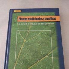 Libros de segunda mano: 50395 - PLANTAS MEDICINALES Y CURATIVAS - LA SALUD A TRAVES DE LAS PLANTAS - EDICION MMVI. Lote 288866863