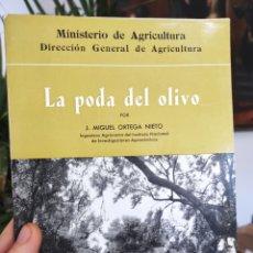 Libros de segunda mano: LA PODA DEL OLIVO, MIGUEL ORTEGA NIETO, MADRID, 1962. Lote 288916218