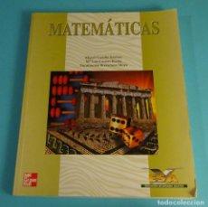 Libros de segunda mano de Ciencias: MATEMÁTICAS ESA. EDUCACIÓN SECUNDARIA ADULTOS. M. CASTILLO / M.L. CASARES / E. BORRACHERO. Lote 289314438
