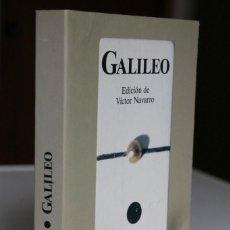 Libros de segunda mano de Ciencias: GALILEO. EDICIÓN DE VÍCTOR NAVARRO. TEXTOS CARDINALES. EDICIONES PENÍNSULA. Lote 289319148